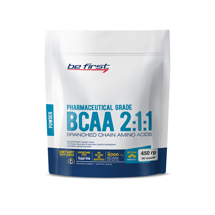 Be First BCAA 2:1:1 Powder пакет 450 гр