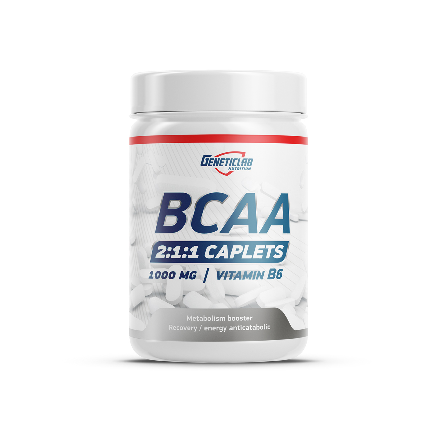 GENETIC LAB BCAA BCAA 2:1:1+B6 1000mg 90 каплет
