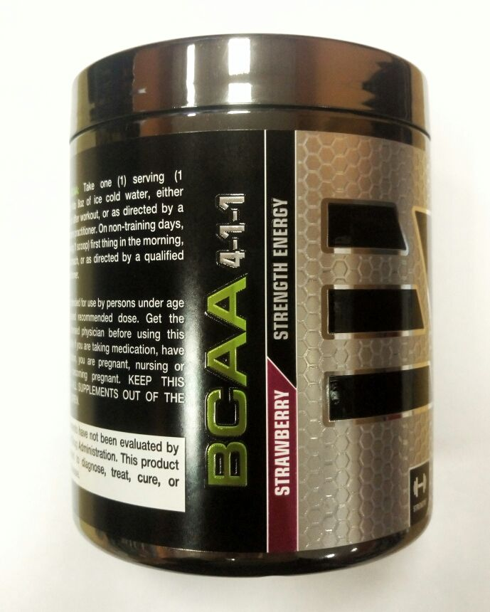 Epic Labs BCAA 4:1:1 BLACK SERIES 200гр